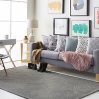 Colonial Home Grey Contemporary Trellis Handmade Area Rug - 8' x 10'