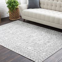"Trocadero Ivory Contemporary Persian Area Rug - 7'10"" x 10'3"""
