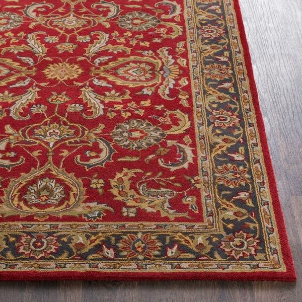 Colonial Home Red Traditional Oriental Handmade Area Rug 8 X 11 Overstock 16795260