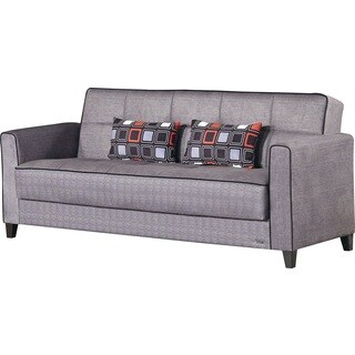 Clifton Grey Sleeper Sofa with Storage