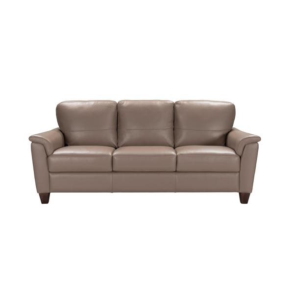Shop Acme Furniture Belfast Taupe Italian Made Leather