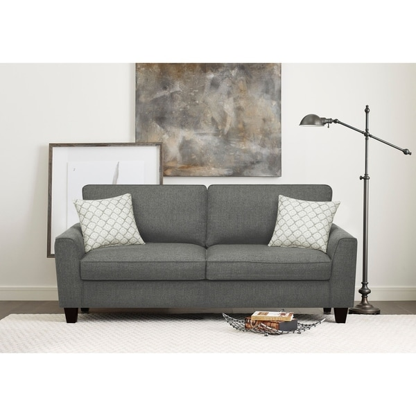 Shop Serta Astoria Deep Seating 78-inch Sofa - Free ...