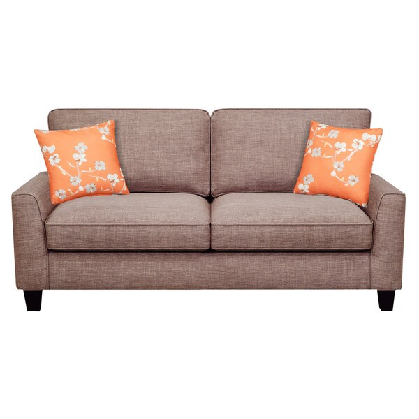 Serta Astoria Deep Seating 78 Inch Sofa   Free Shipping Today    Overstock.com   23101262