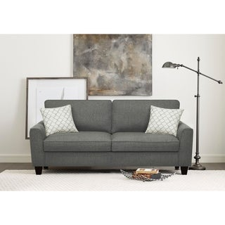 Serta Astoria Microfiber 73-inch Deep Seating Sofa