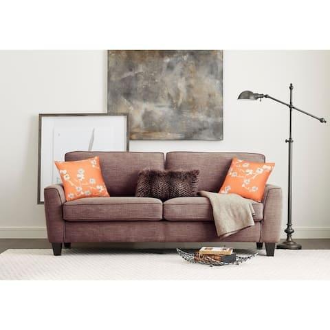 Serta Astoria Microfiber 73 Inch Deep Seating Sofa