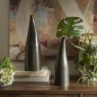 INK+IVY Winslow Black Decorative Vase - Set of 2