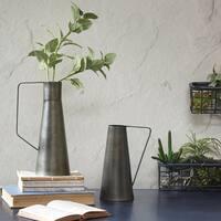 INK+IVY York Black Decorative Vase - Set of 2