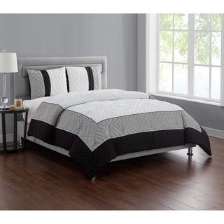 VCNY Home Tristian Embossed 3-piece Comforter Set