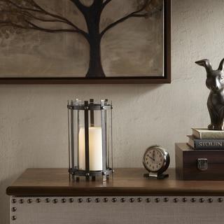 Madison Park Zoey Black Metal Frame Candleholder - Large