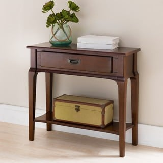 KD Furnishings Brown Wood Hall Stand