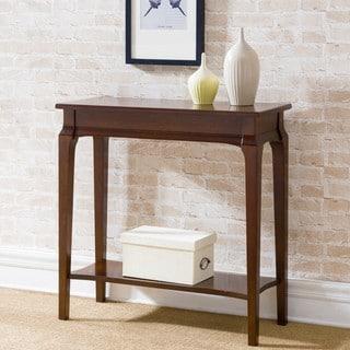 KD Furnishings Brown Wood Hall Table