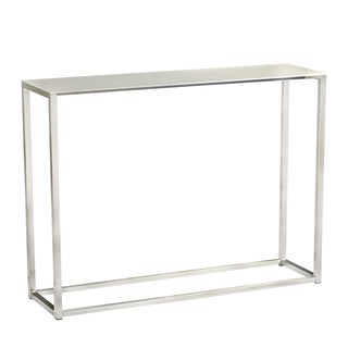 Euro Style Montclair Steel 48-inch Console Table