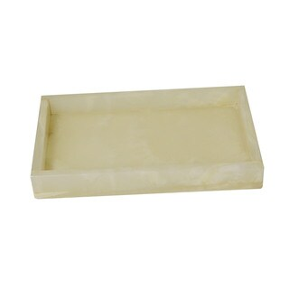 Rembrandt Home Pearl Onyx Tray