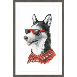 'Cool Raoul' Framed Painting Print