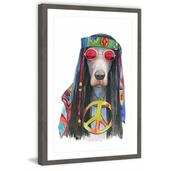 'Cool Perspectives' Framed Painting Print