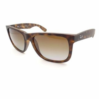 Ray Ban Justin RB4165 Unisex Tortoise Frame Brown Polarized Lenses