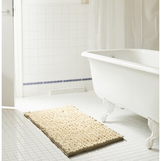 RT Designers Collection Cali High Pile Large Chenille Bath Mat