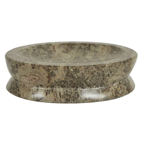 Rembrandt Home Taupe Grey Soap Dish