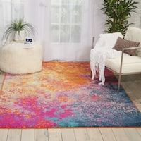"Nourison Passion Sunburst Area Rug - 3'9"" x 5'9"""