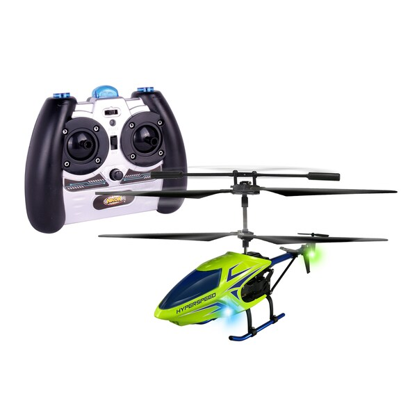 NKOK Air Banditz 3.5CH IR/USB HyperSpeed Remote Control Toy - Colors Vary