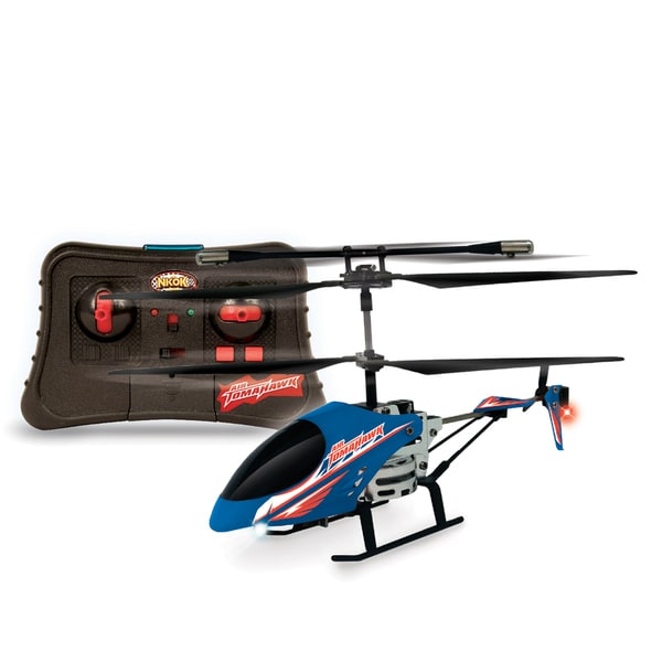NKOK Air Banditz 2CH IR Air Tomahawk Remote Control Toy - Colors Vary