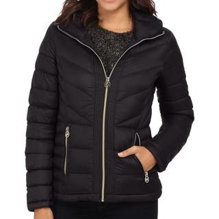 Michael Michael Kors Black Quilted Packable Jacket