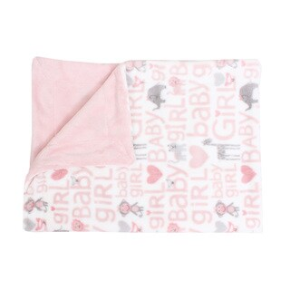Baby Safari Printed Fleece Baby Throw