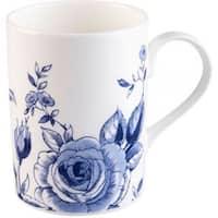 Roy Kirkham Lucy English Blue Mugs - Set of 6