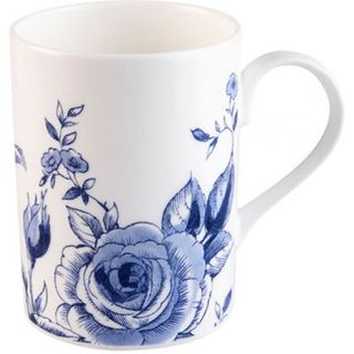 Roy Kirkham Lucy English Blue Mugs - Set of 6
