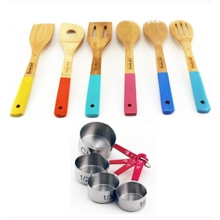 Bakeware 10pc Set with 6pc Utensil Set & 4pc Meas Cup Set