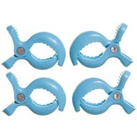 Dreambaby® Strollerbuddy® Stroller Clips, 4 Pack Blue