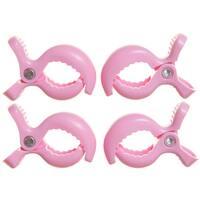 Dreambaby® Strollerbuddy® Stroller Clips, 4 Pack Pink