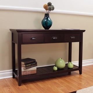 Lindendale Espresso 47-inch 3-drawer Console Table