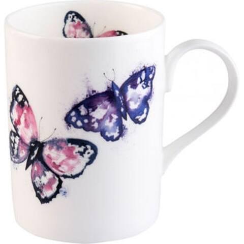 Roy Kirkham Lucy Harmony Butterfly Mugs - Set of 6