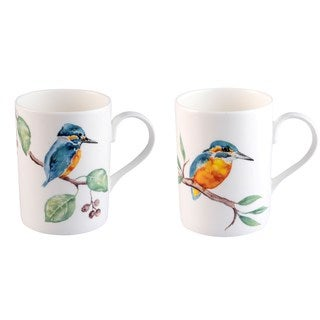 Roy Kirkham Lucy King Fisher Glory Mugs - Set of 6