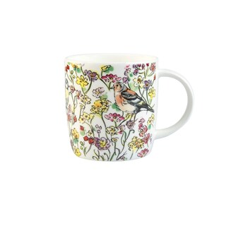 Roy Kirkham Sophie Morning Meadow Birds Mugs - Set of 6