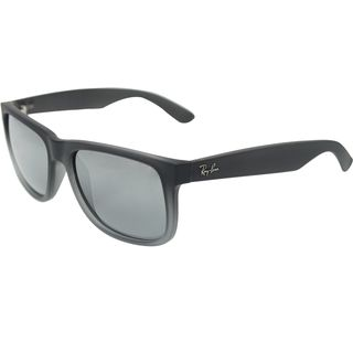 Ray-Ban Justin Classic RB 4165 Unisex Grey Frame Silver Gradient Lens Sunglasses