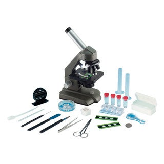 Edu Toys 640x Die-Cast Optical Microscope with Dual Lights