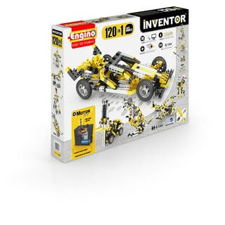 Engino Inventor 120 in 1 Models Building Motorized Set - Multi Models|https://ak1.ostkcdn.com/images/products/16796890/P23101990.jpg?impolicy=medium