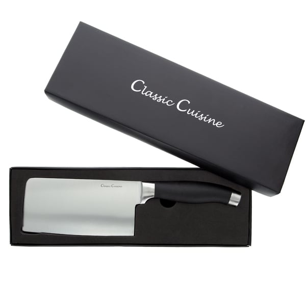 Classic Cuisine 6.5 Inch Chopper Cleaver Stainless Steel Knife