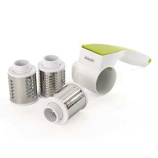 CooknCo 5pc Rotary Cheese Grater Set|https://ak1.ostkcdn.com/images/products/16797015/P23102089.jpg?impolicy=medium
