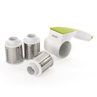 CooknCo 5pc Rotary Cheese Grater Set