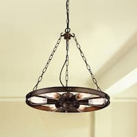 greenville signature 6-light kitchen island pendant