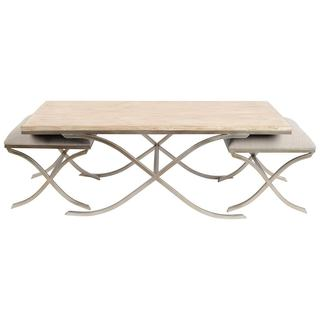 Mercana Bellfield White Wood 3-piece Nesting Table Set