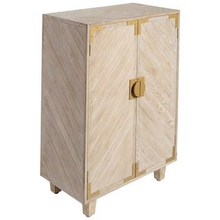 Mercana Beauparc II White Wood Cabinet