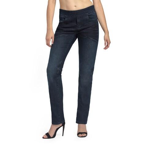 Bluberry Women's Brooke Straight-leg Denim