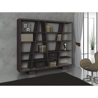 Ideaz International Nicco Bookcase Wenge
