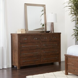 Pine Canopy Uncompahgre 8 Drawer Reclaimed Wood Dresser