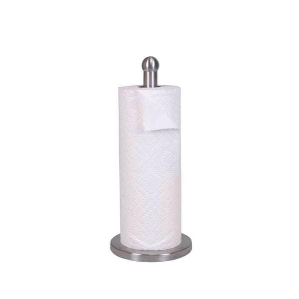 Home Basics Stainless Steel Paper Towel Holder