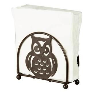 Home Basics Steel Owl Napkin Holder